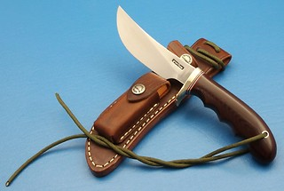 Randall Model #20-WARD GAY Model, in maroon micarta!!