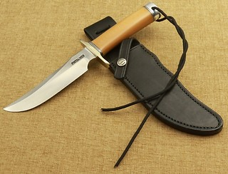 Randall Model #4-6-F (Fighter) in BONE LINEN!!