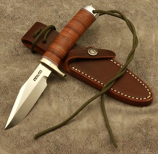 Randall Model #8-4 inch-FULL TANG IN LEATHER!
