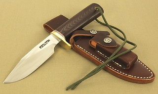Randall SERGEANTS Model! (in red/blue micarta)