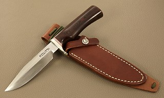 Randall Model #5-5 inch, in Red & Blue micarta!!