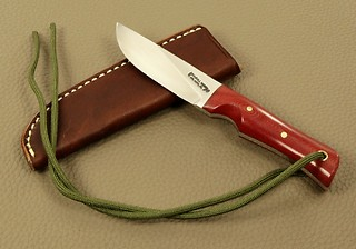 Randall Model #10-3 inch with Dark Red Micarta!