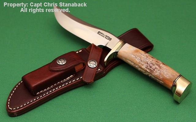 Randall Model #3-5 inch, with Stag from The Captain's 'STASH'!!