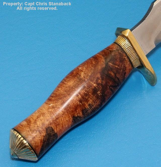 Randall Model #11-5 inch, in Spalted Maple!!