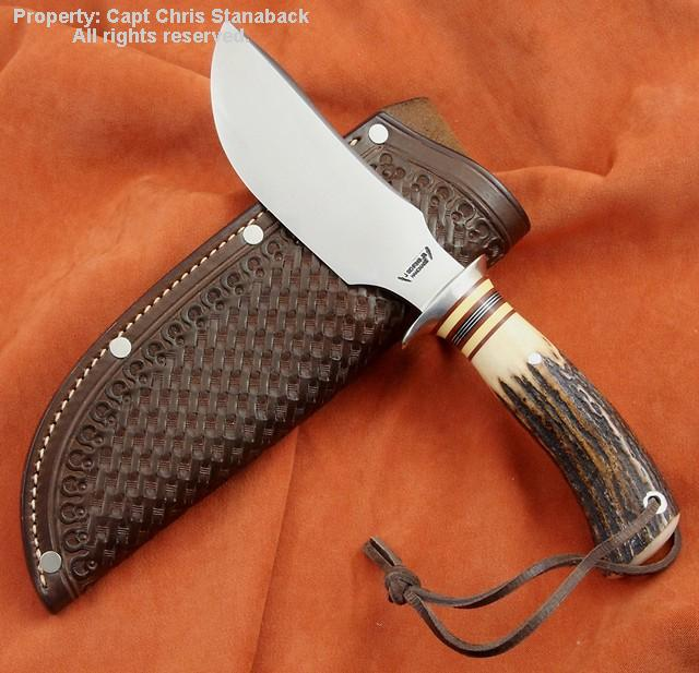 James Behring, Jr. Michigan-made custom knife!