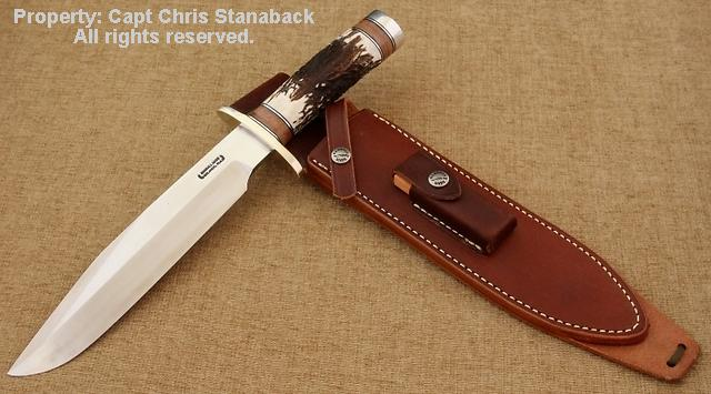 Randall Model #12-9/#14 grind Bowie knife!
