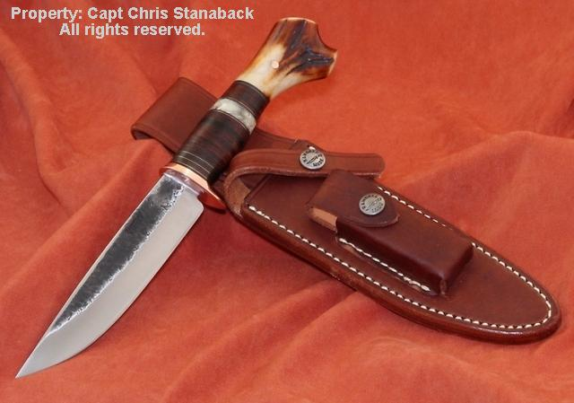 BMK 'MISSION' Knife! W/ Randall Sheath!