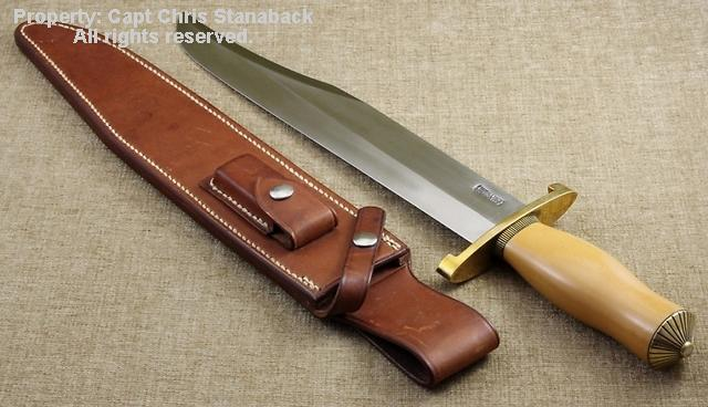Randall #12-13 inch, Thorp Bowie, in OLD YELLER!!