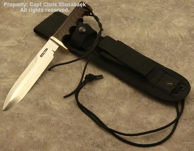 Randall Model #16-7-Special grind & laminated micarta!