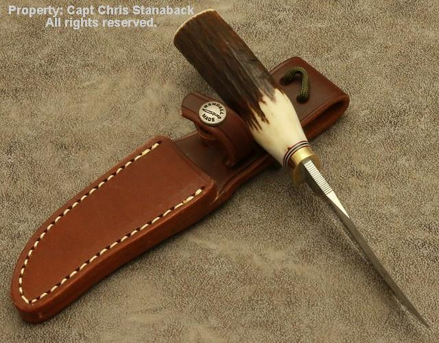 Randall Model #8-4 inch-TROUT & BIRD-(Old Style)!