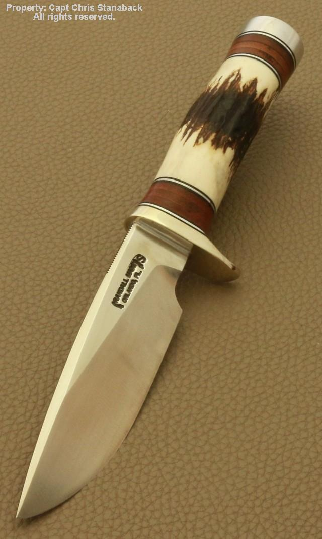 Randall Model #25-5 inch, TRAPPER with Killer Stag!