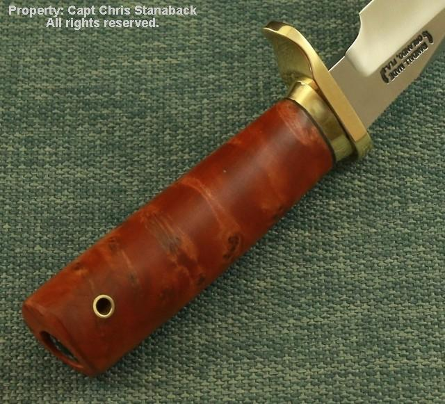 Randall Model #12-6 inch- LITTLE BEAR BOWIE-Dressed-up!