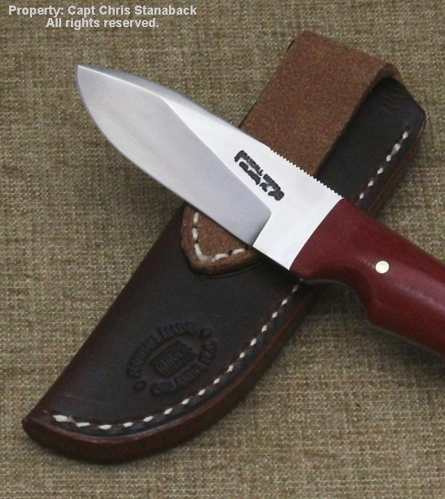 Randall Model #10-3 inch Drop Point-RED!