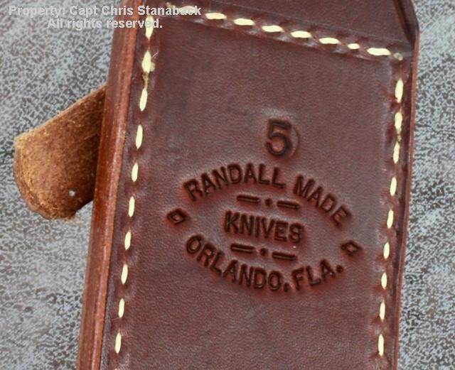 Randall Model #5-5 inch, CAMP & TRAIL