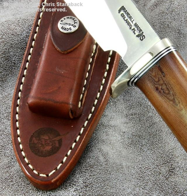 Randall Sergeants Model...with NASA insulator handle!!