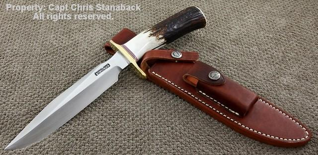 Randall Model #1-7 inch, in Large Stag!