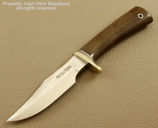STANABACK SPECIAL-4 5/8 inch TEARDROP GREEN MICARTA!!